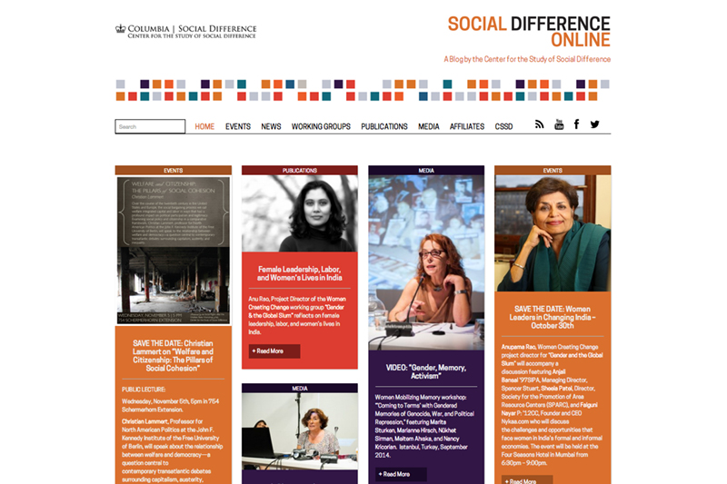 Center for the Study of Social Difference, Columbia University